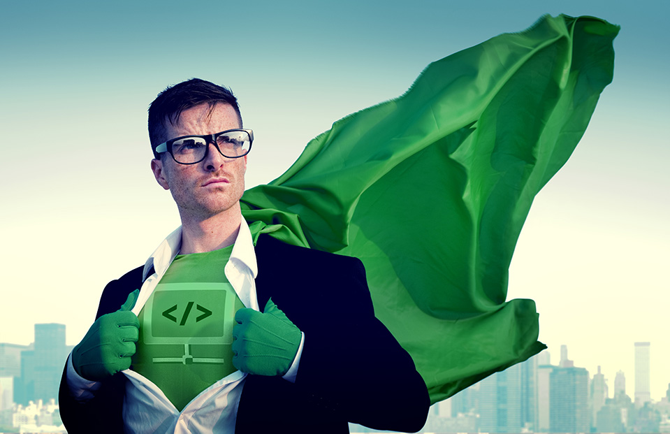 Digital Marketing Superhero
