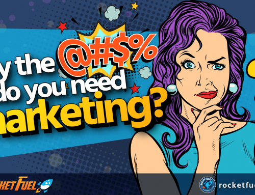 Why the @#$% do you need marketing?